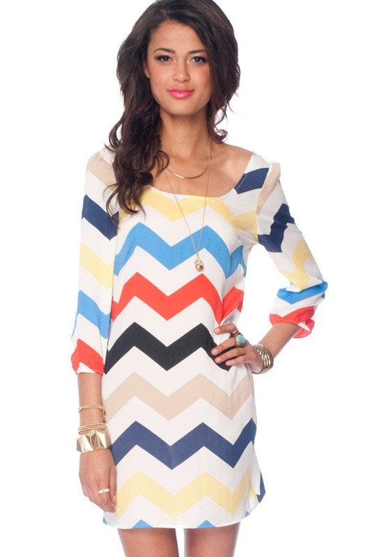 Nena Zig Zag Dress
