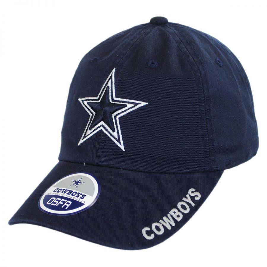 Reebok Dallas Cowboys NFL Slouch Strapback Baseball Cap NFL Football Caps