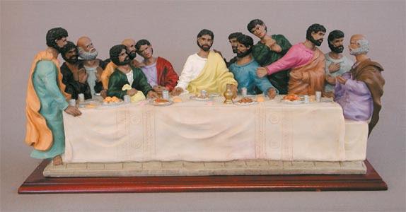 Black African American Last Supper
