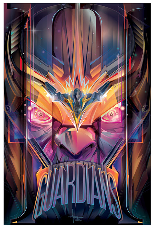 Guardians of the Galaxy II - Thanos Tribute by Orlando Arocena || FB