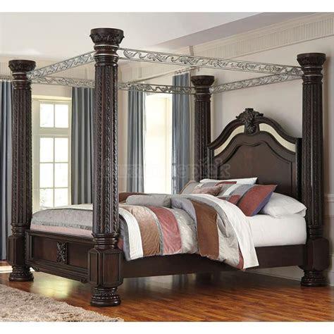 ck ashley furniture laddenfield dark brown bed