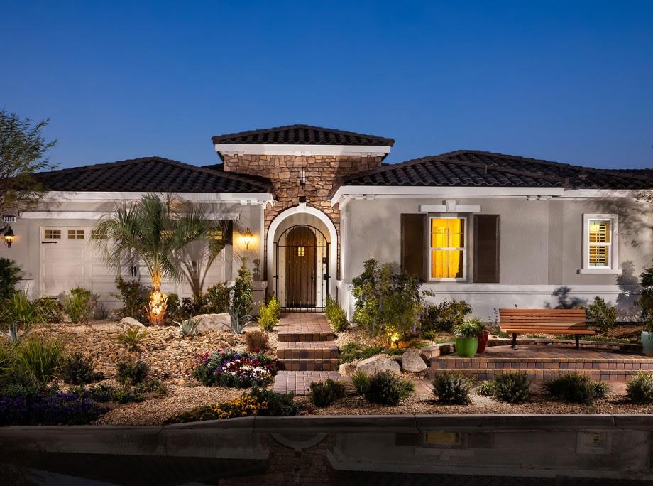 Single Family Home Design Inspirada In Henderson Ktgy Architects
