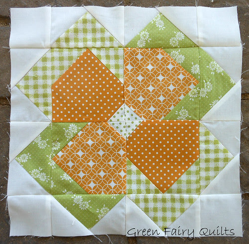 Flower Patch Quilt Along 3