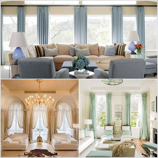 10 Amazing Curtain Ideas For Your Living Room