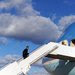 President Obama boarding Air Force One on Sunday. He said Saturday night that a final agreement with Iran