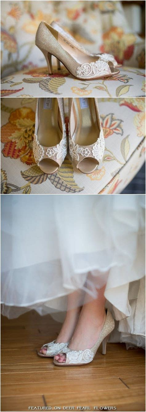 17 Best ideas about Champagne Wedding Shoes on Pinterest