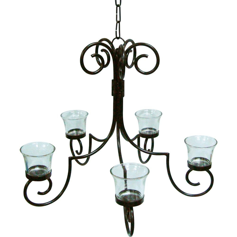 Daily cheapskate five votive sukkah chandelier just 299 with free jaclyn smith today 15 in votive chandelier arubaitofo Images