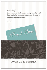 PCS-1069 - salon postcard flyer