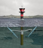 Seagen Tidal Turbine Blades