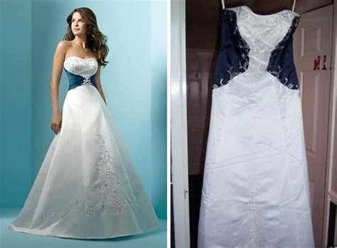 Ads Versus Reality: 32 Disappointing Wedding Dresses