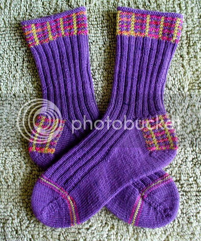 Mad About Plaid Socks