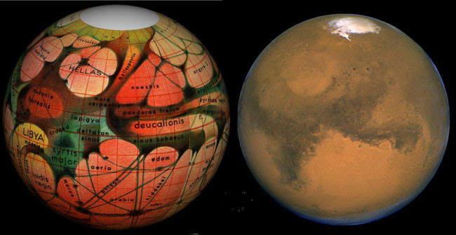 Credit and Copyright: Tom Ruen, Eugene Antoniadi, Lowell Hess, Roy A. Gallant, HST, NASA