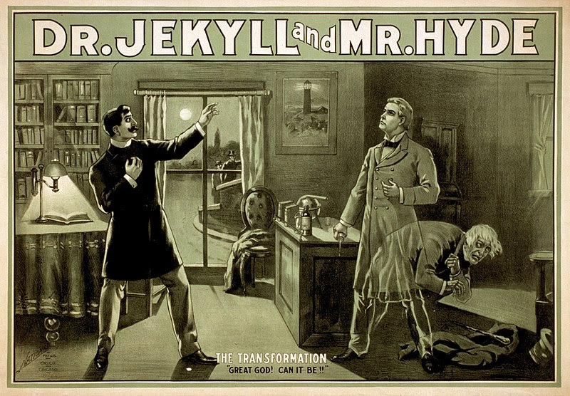 Robert Louis Stevenson's Strange Case of Dr Jekyll and Mr Hyde is known for its portrayal of a split personality