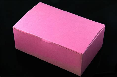 Pink Cake Boxes Wholesale. 8 in Length x 5 in Width x 3 1