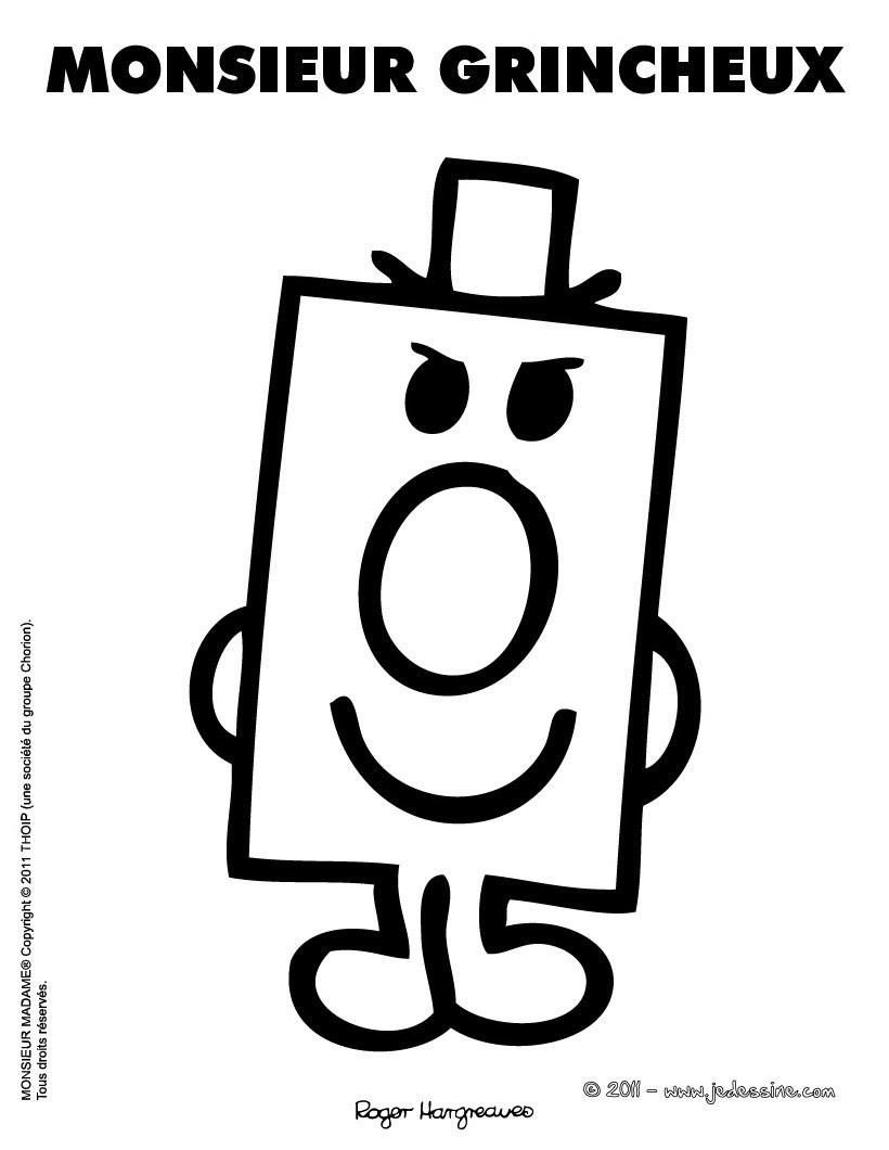 Coloriage Gratuit Mr Grincheux Auto Electrical Wiring Diagram