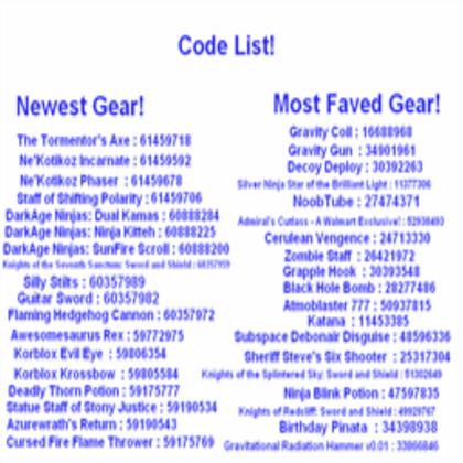 Gear Codes Kohls Admin Roblox Guns Roblox Apk Download Mod Roblox Boombox Gear Code For Admin Free Robux No Verification Computer