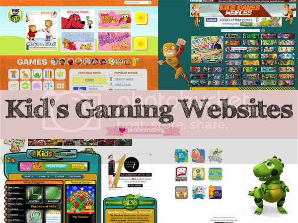 Kid's Gaming Websites