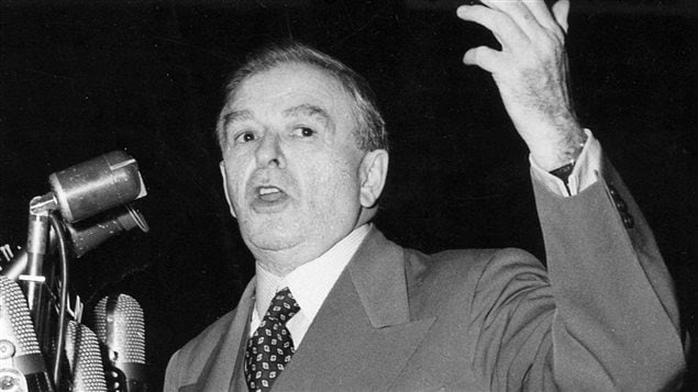 Maurice Duplessis en 1956