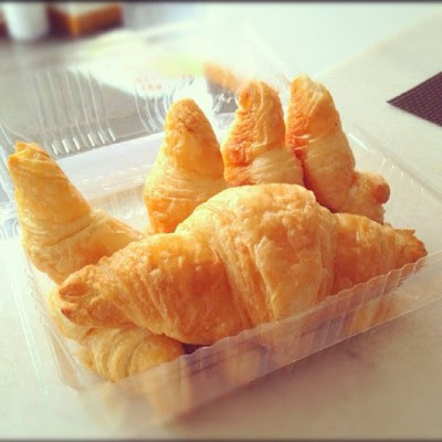 Golden butter croissant😍 and Selamak Hari Raya!  (Taken with Instagram at 💓home sweet home💓)