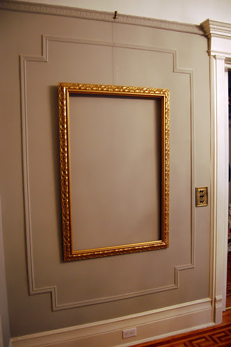 Frames hung