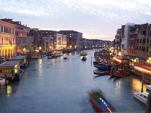 Venice at dusk. Venice, Italy