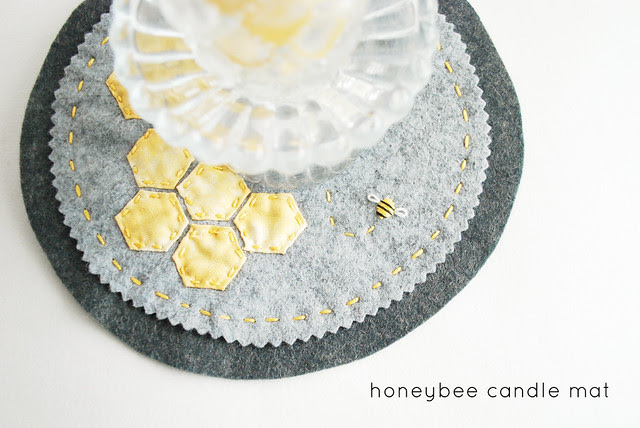 Bee Candle Mat