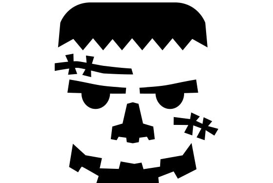 Frankenstein Pumpkin Carving Patterns