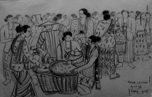 Indonesian Visual Art Archive Karya Karya Batara Lubis
