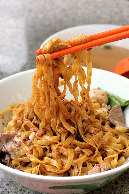 Noodles stay fairly firm