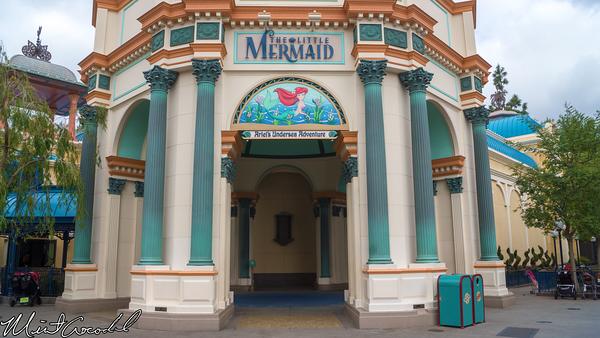 Disneyland Resort, Disney California Adventure, Little Mermaid, Ariel, Undersea, Adventure, New, Entrance