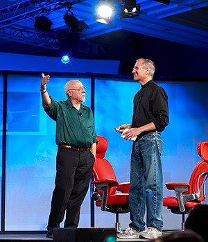 Walt Mossberg and Steve Jobs at All Thing Digi...