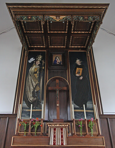 Reredos at Ss Gregory & Augustine's