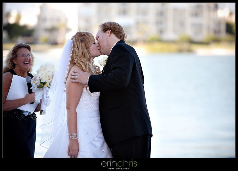 First Kiss St Petersburg Wedding