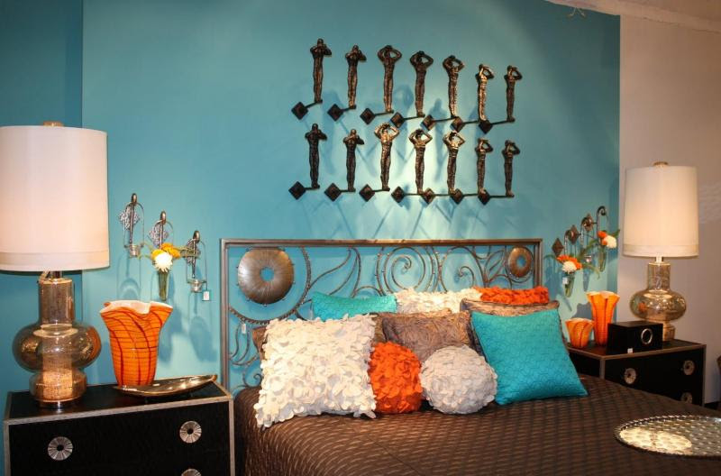 Turquoise Bedroom Decor | House Decorating Ideas
