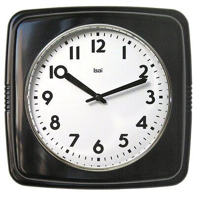 Bai Design Cubist Retro Modern Wall Clock | Wayfair