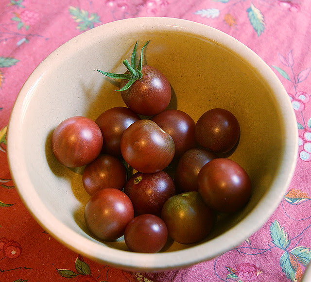 purple cherry tomatoes 2