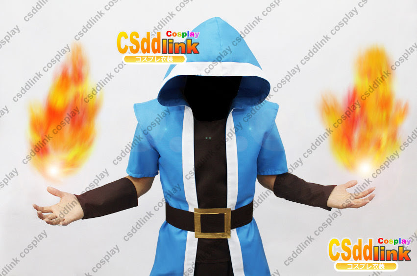 Clash Of Clans Coc Wizard Cosplay Costume Csddlink Cosplay
