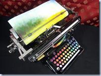 Chromatic Typewriter