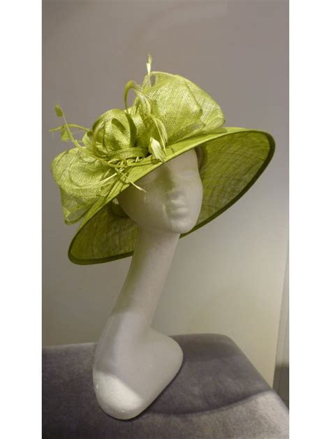 Wedding Hats Sage Green