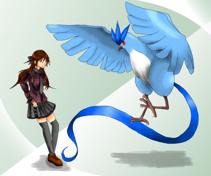 ポケモンイラスト 天空を舞う鳥類の園最強の鳥パ使いを目指して