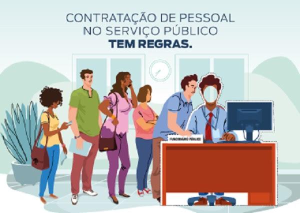 Resultado de imagem para Campanha MP-BA alerta sociedade sobre abuso de contratação temporária na Administração Pública