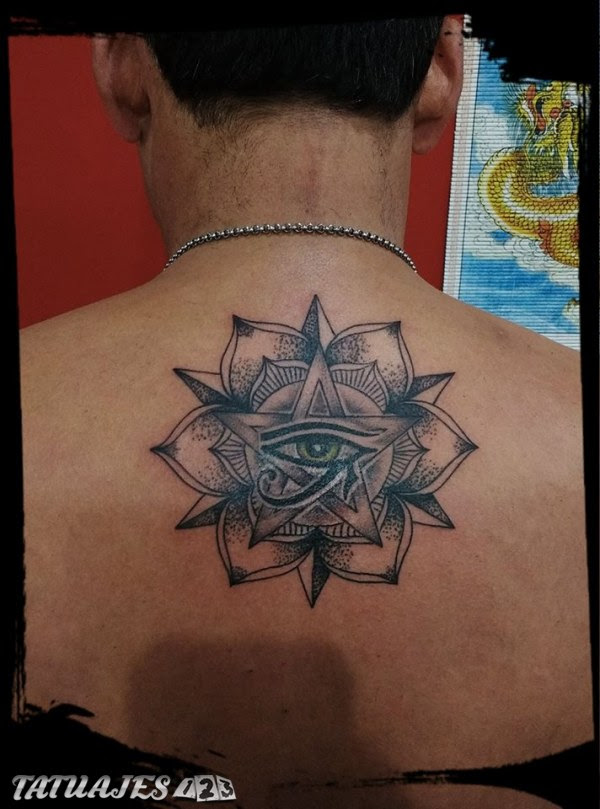 Mándala Con Ojo De Horus Tatuajes 123