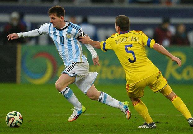 Messi passou mal nesta quarta-feira