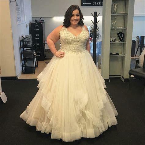 Custom Plus Size Wedding Dresses in 2019   Plus Size