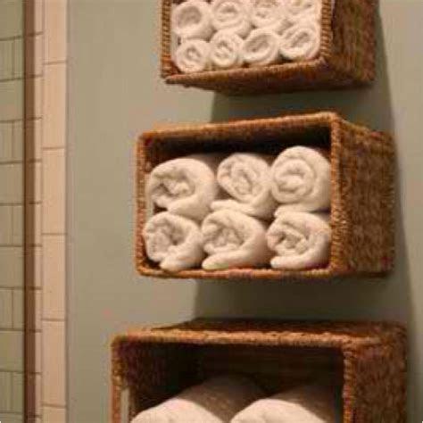 DIY wicker basket shelves.   For the Home   Pinterest   Basket shelves, Shelves and Decor styles