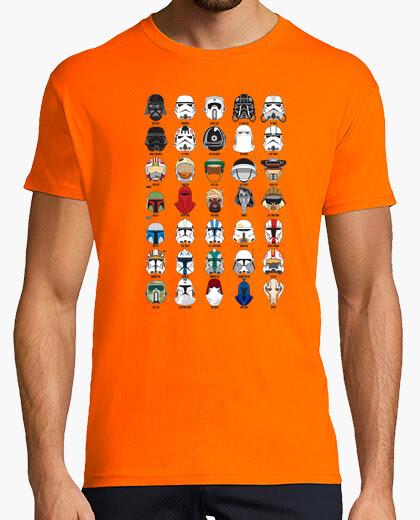 Camiseta Helmets Star Wars