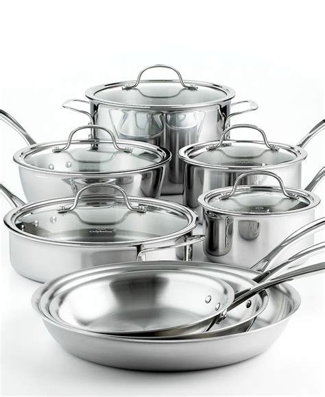 Tri Ply Stainless Steel 13 Pc. Cookware Set   Wedding