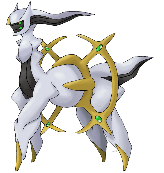 Official Pose of Arceus? by Xous54 on DeviantArt