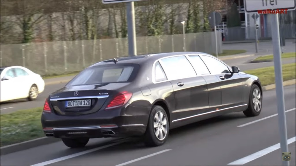 ... Mercedes-Maybach S600 Pullman will be the Chinese and Russian markets