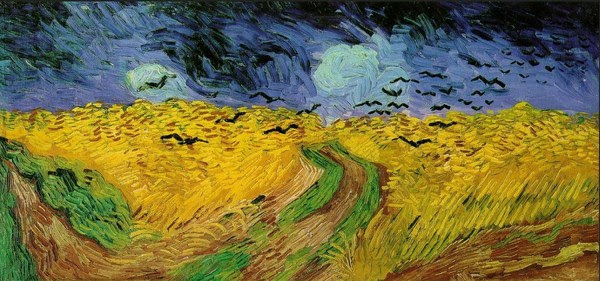 Wheat Field with Crows, Auvers July 1890
